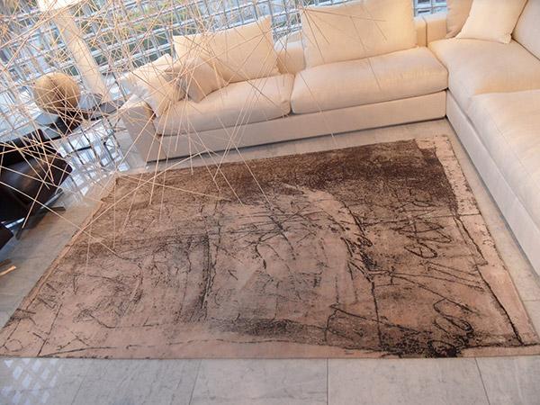 Tappeti Kilim Moderni : Tappeto kilim cotone italian design moderno righe stuoia