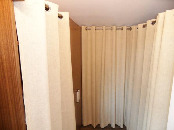Tende anelli trendy tenda da sole da esterno per balcone in tessuto resistente misura cm x in - Tende da esterno ad anelli ...